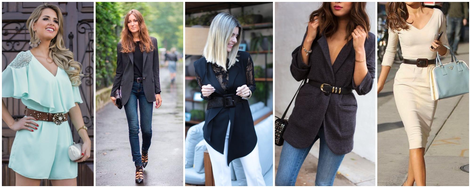 Como usar cinto feminino que combine com a roupa?