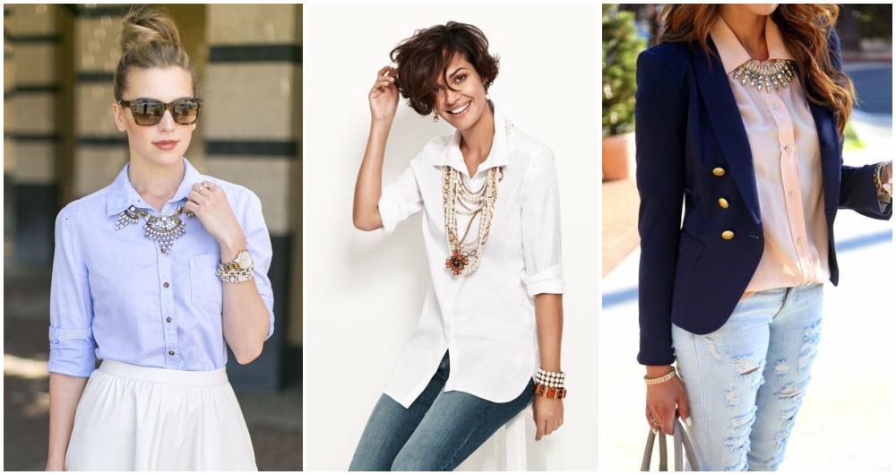 Blusa com colar — 6 dicas para combinar e arrasar