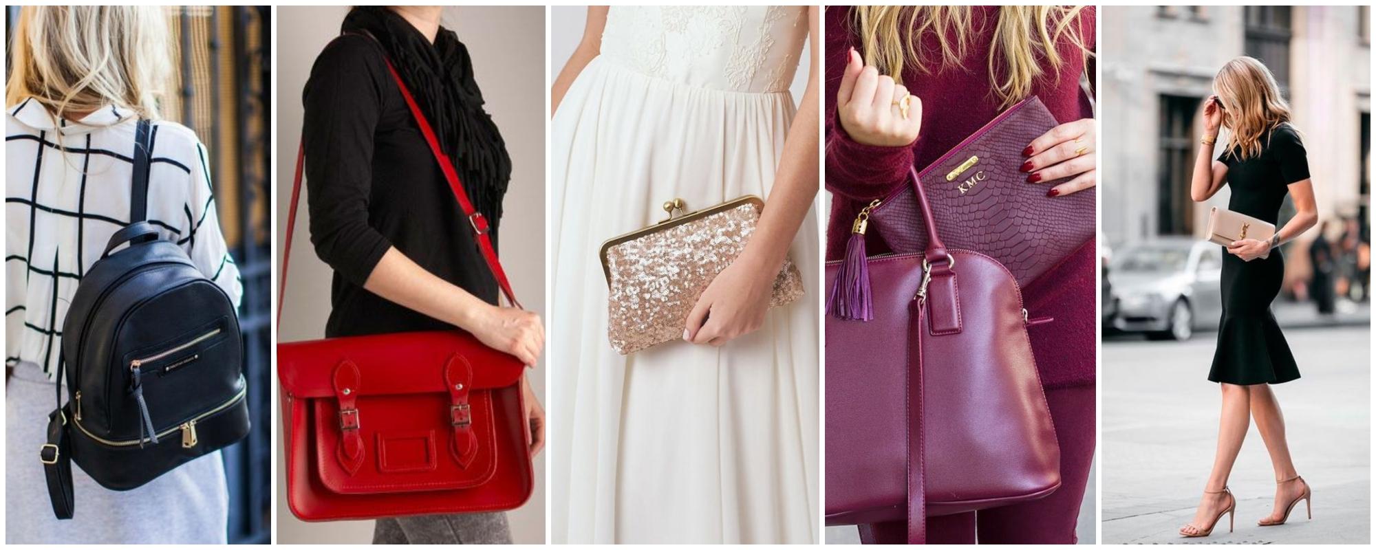Bolsas femininas: conheça 10 modelos indispensáveis