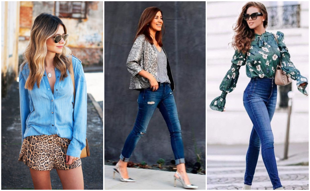 Casual Jeans – Look com estampa