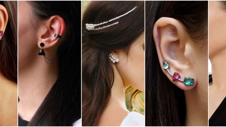 Brinco Ear Cuff – Saiba como colocar e usar este brinco da moda