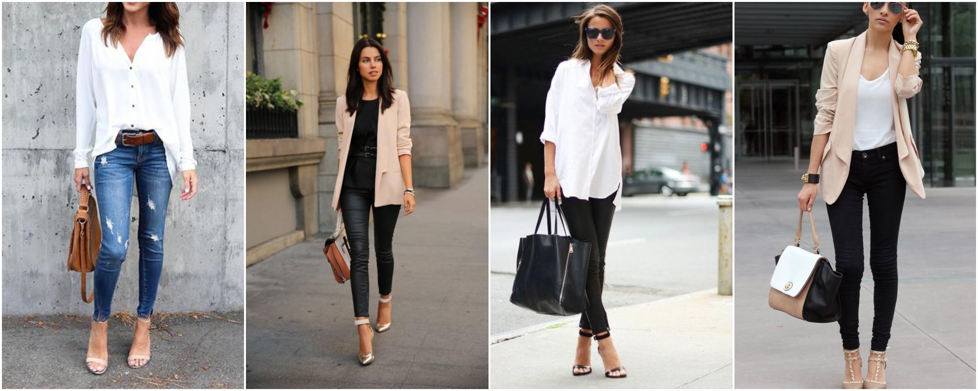 Como montar looks de trabalho estilosos repetindo roupas?