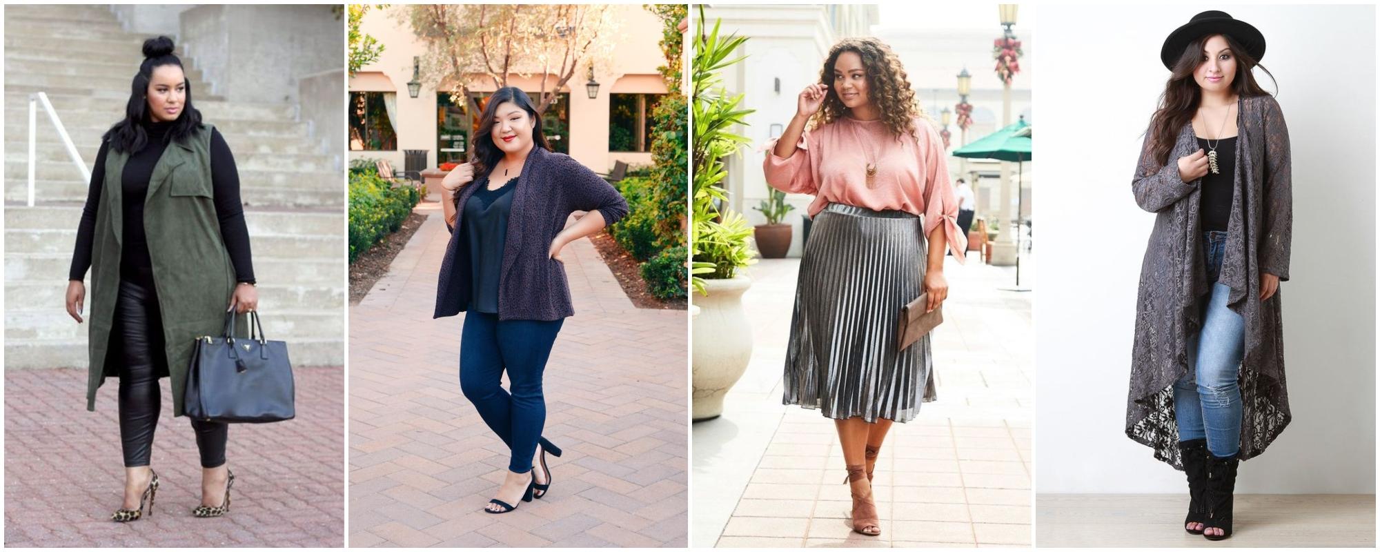 Moda para gordinhas: 6 dicas de looks plus size