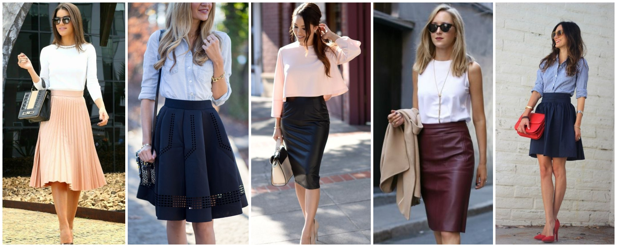 Tipos de saia para cada corpo — Qual o modelo perfeito para você?