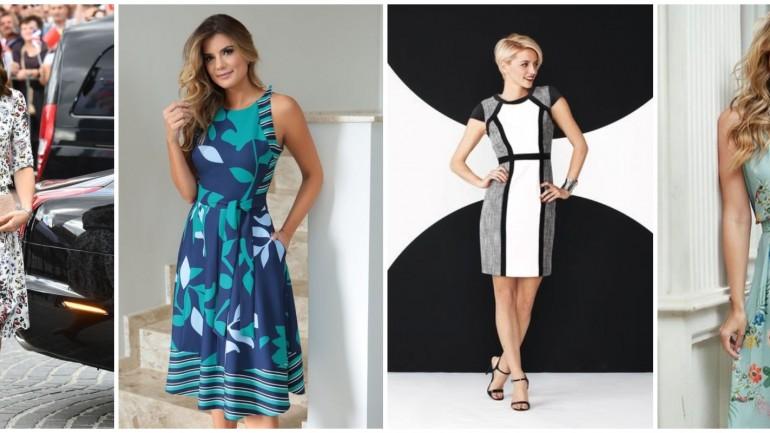 Você sabe como combinar seu acessório com vestido estampado?