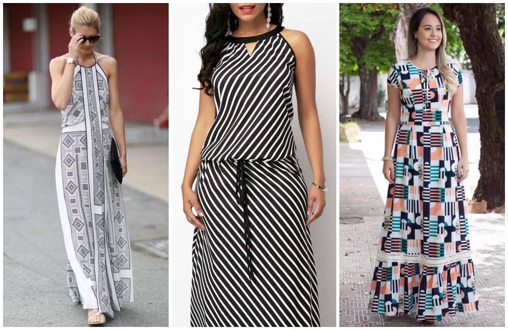 Vestido estampado: como combinar com acessórios?