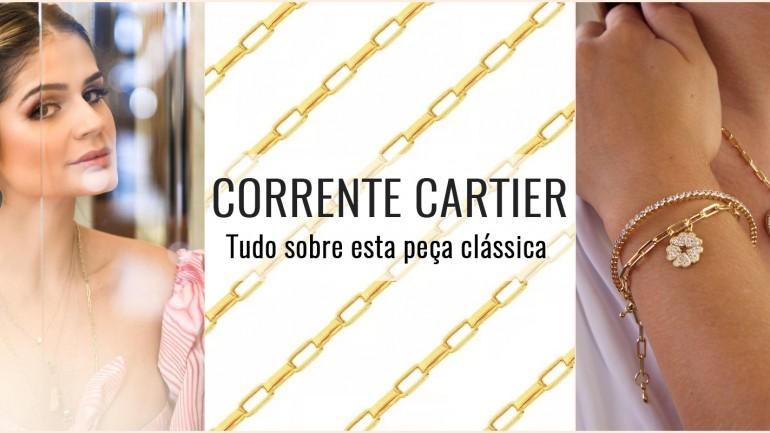 Corrente Cartier – Tudo sobre esta peça clássica