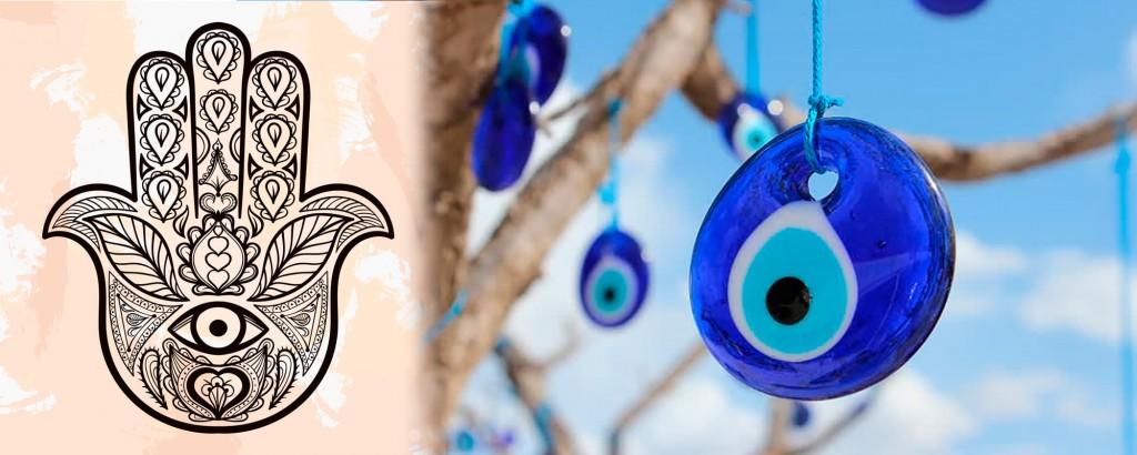 Joias de Olho Grego e Hamsá