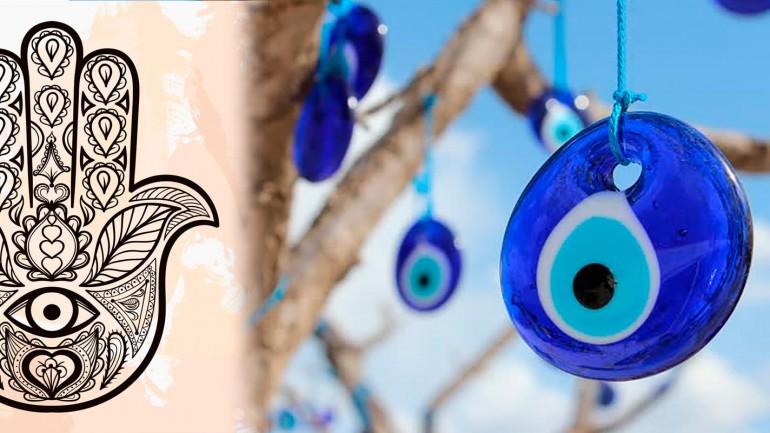 Joias de Olho Grego e Hamsá  – Significados, modelos e como usar