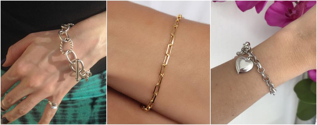 Tipos de pulseiras elos