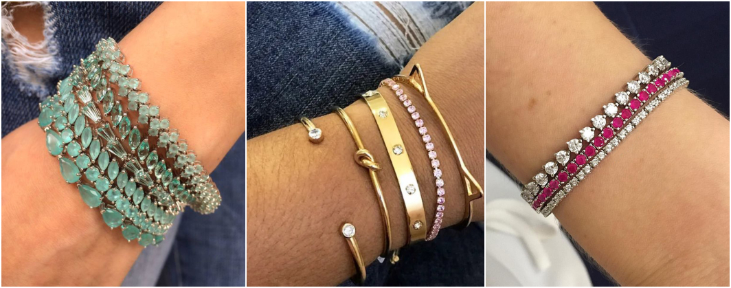 Tipos de pulseiras Riviera