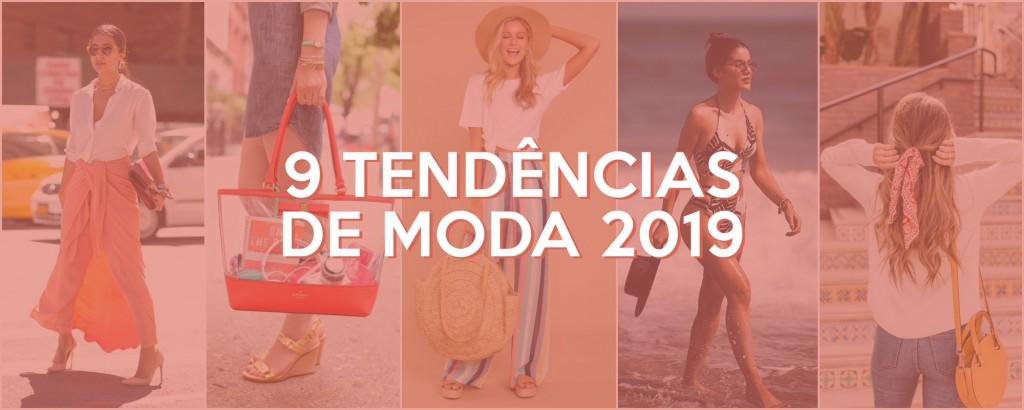 Tendências da Moda 2019