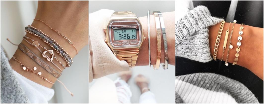 Tipos de pulseiras 1