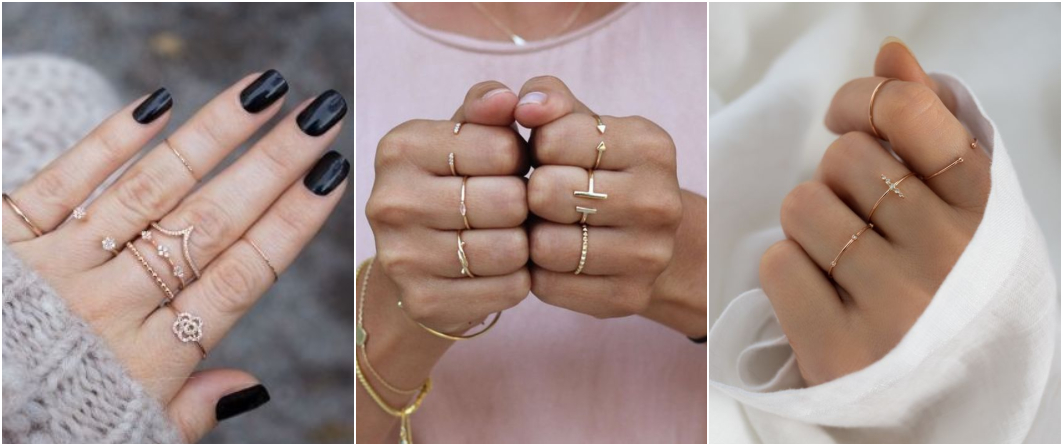 Anéis delicados e fininhos 2
