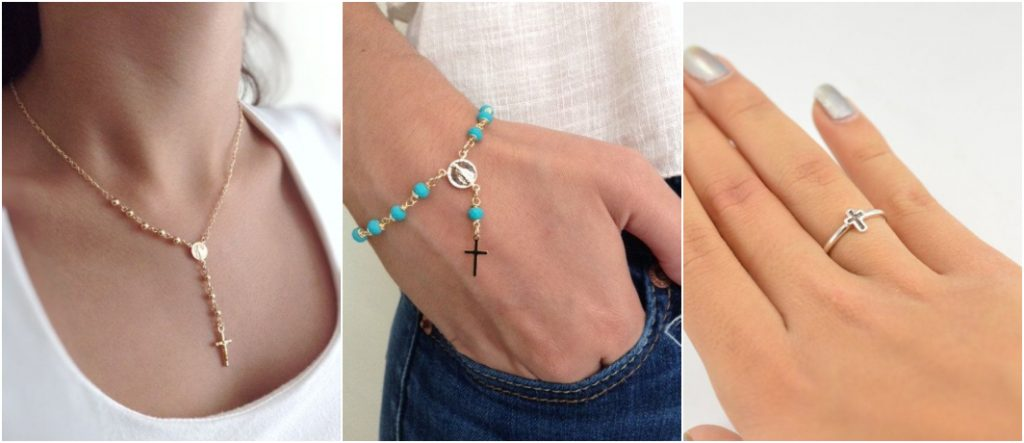 Como usar semi joias religiosas 1