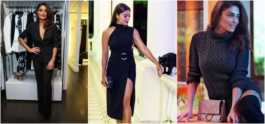 Juliana Paes looks total black