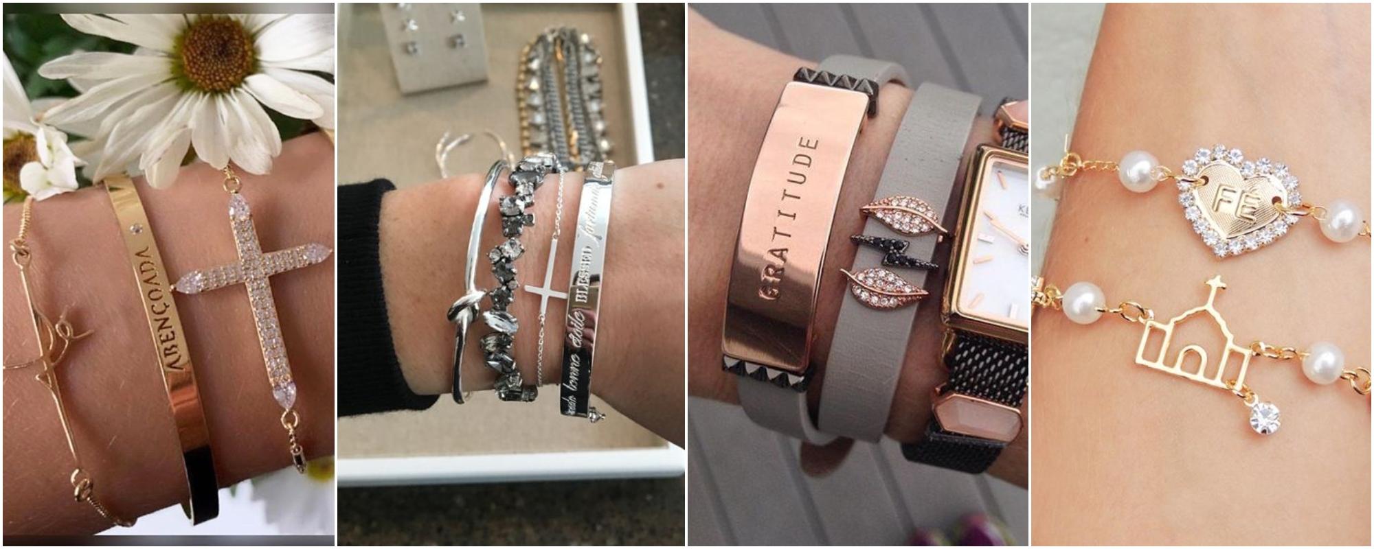 Como usar pulseiras religiosas no dia a dia