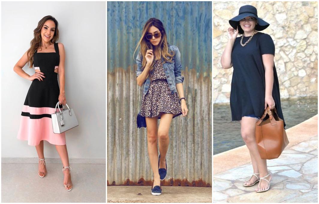 Como combinar vestido com sapato 1
