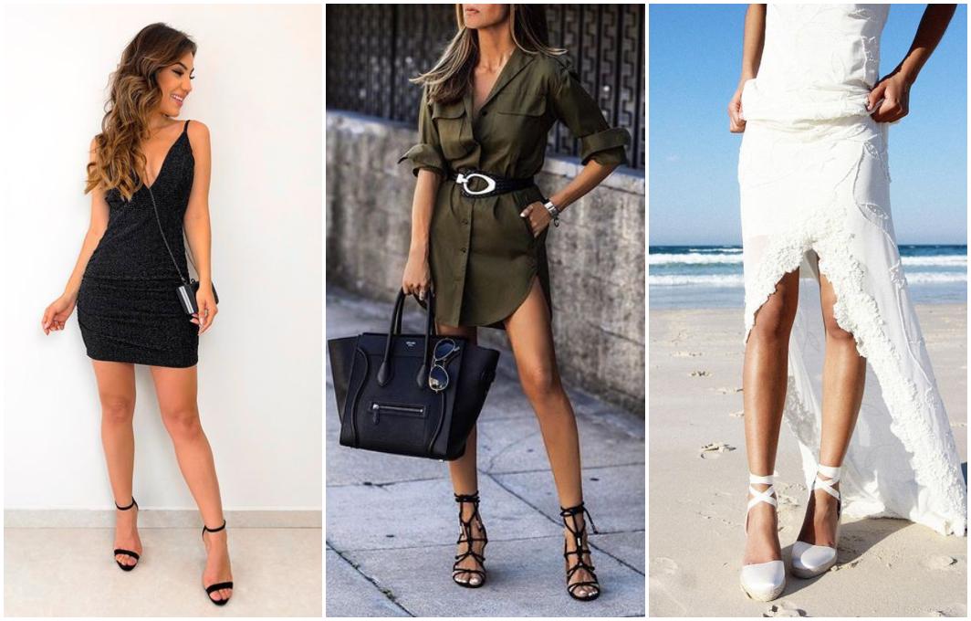 Como combinar vestido com sapato 7