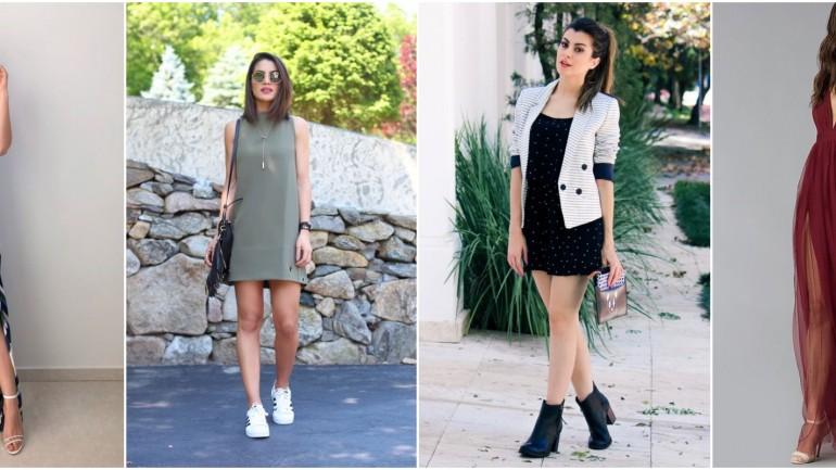 Como combinar vestido com sapato