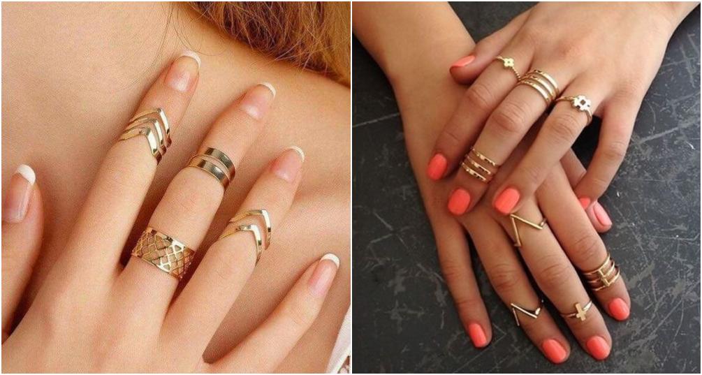 Como combinar anel de falange dica 5