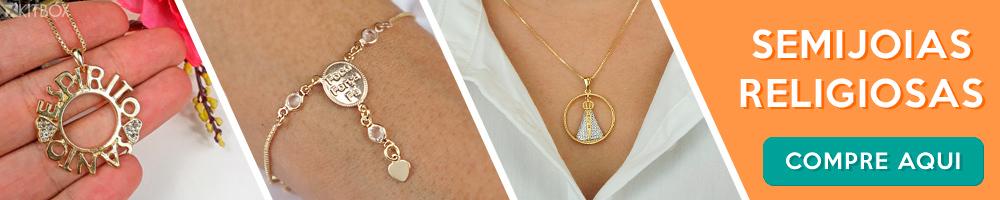 Onde comprar semi joias religiosas