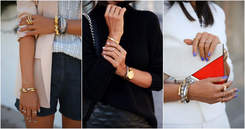 Semi joias em prata – Como usar acessórios prateados 5