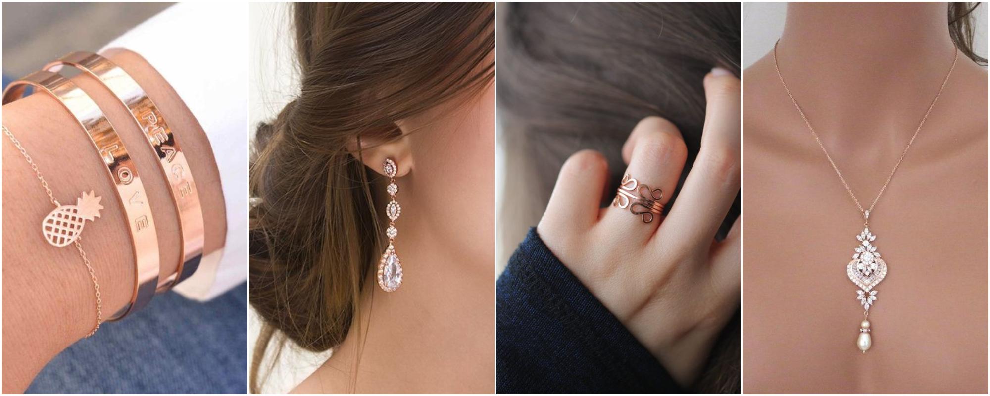 Rose Gold – A tendência das semi joias em ouro rose