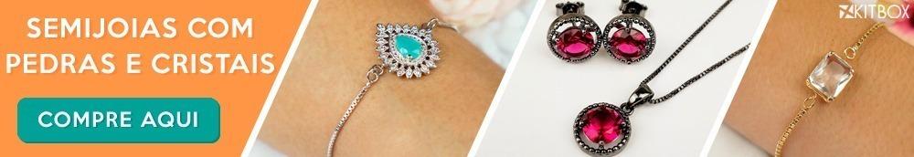 Onde comprar semi joias com pedras e cristais