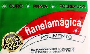 Flanela mágica para folheados