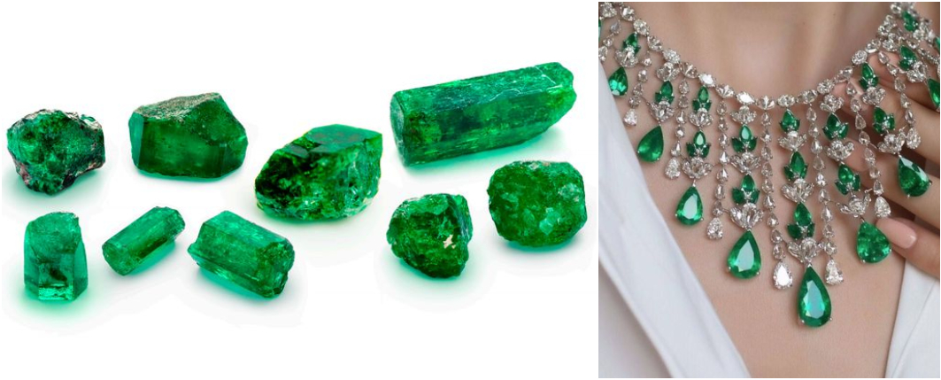 Qual o significado das pedras preciosas - Esmeralda