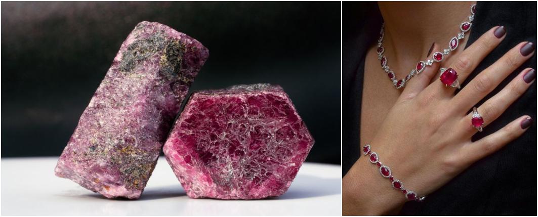 Qual o significado das pedras preciosas - Rubi