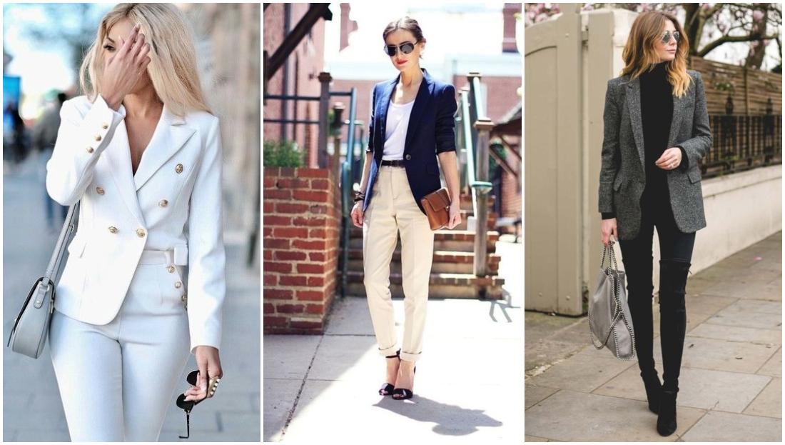 Tipos de casacos femininos - blazer