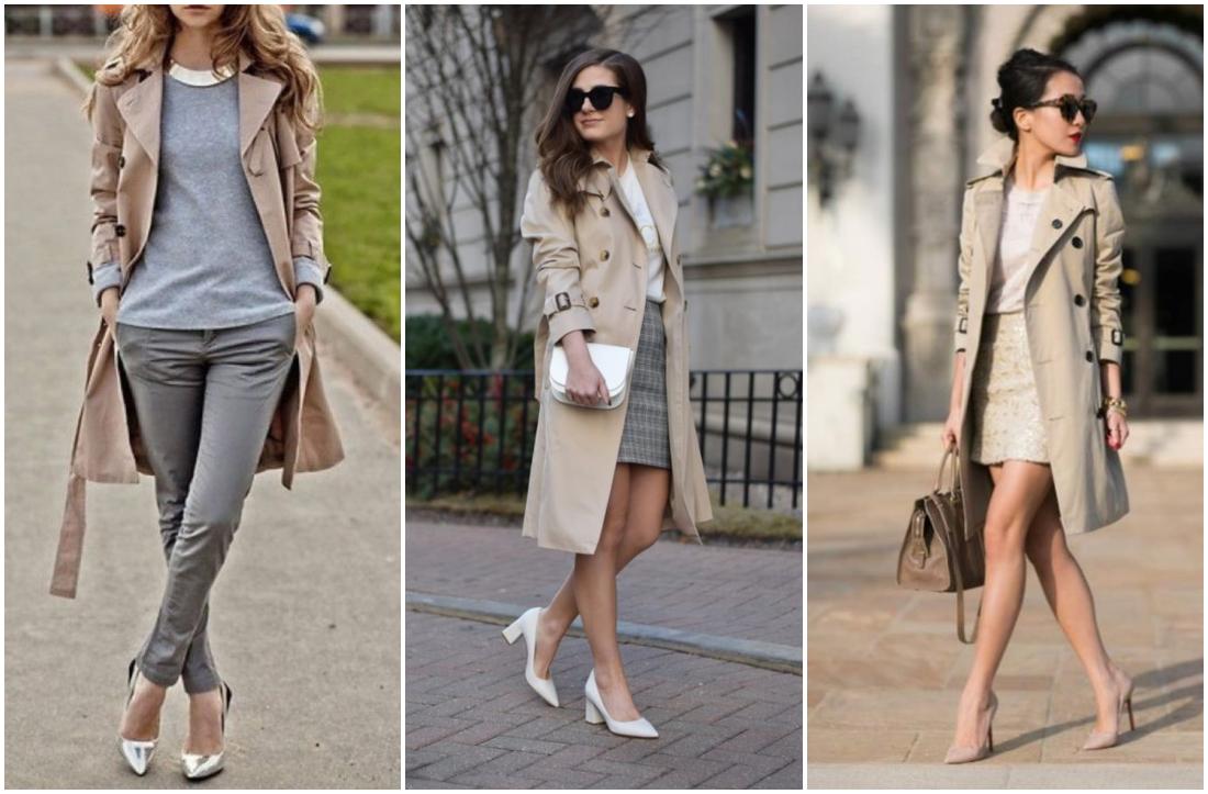Tipos de casacos femininos - trench coat