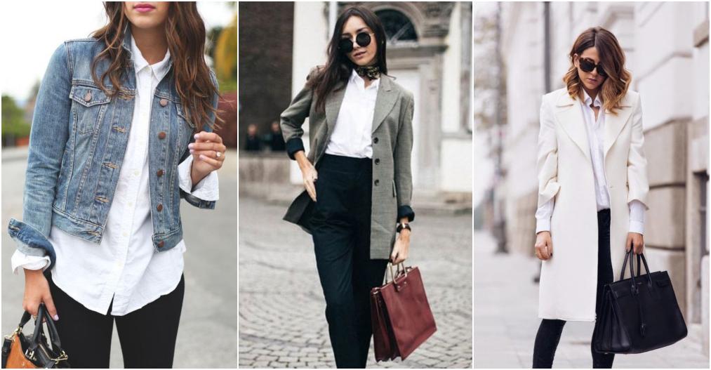 Looks com camisa social e casacos