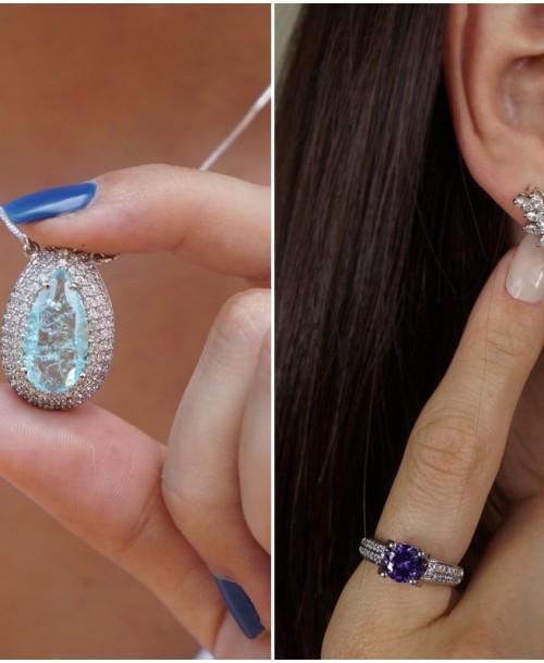 15+ inspirações de semi joias com pedras naturais