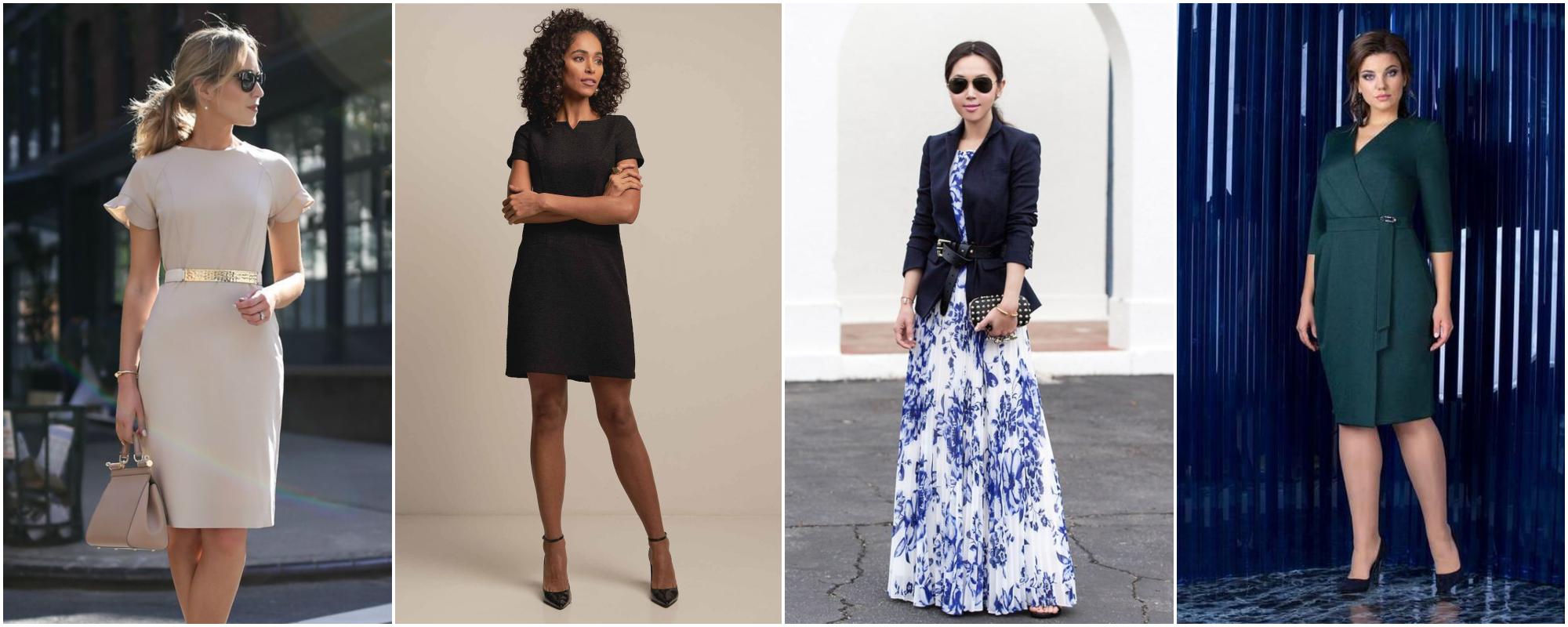 16ce4b4405 Save Vestidos para trabalhar – Não erre na escolha! Muitas mulheres  costumam associar looks de trabalho ...