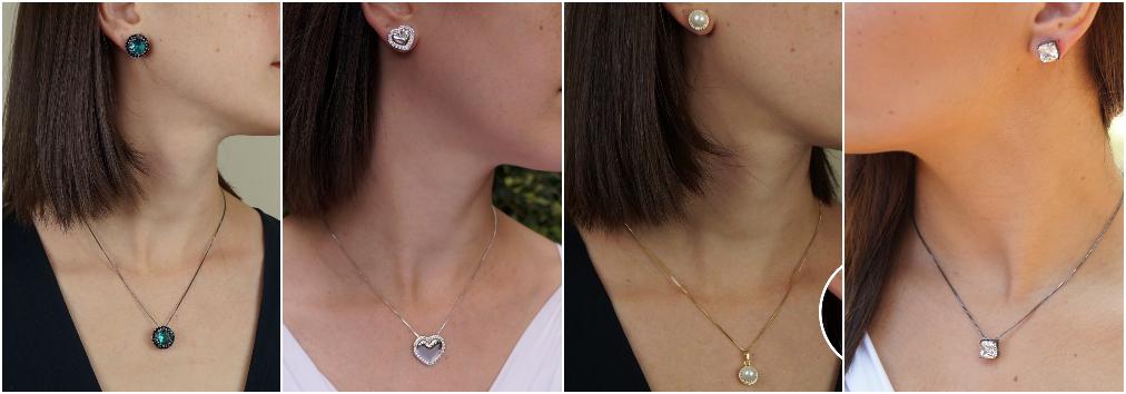 Conjunto de joias – Conjunto de colares e brincos 1