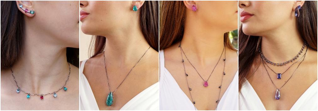 Conjunto de joias – Conjunto de colares e brincos 2