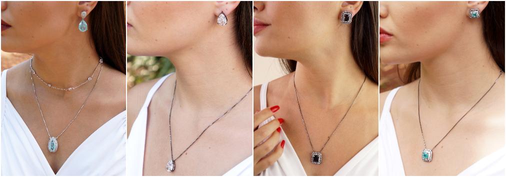 Conjunto de joias – Conjunto de colares e brincos 3