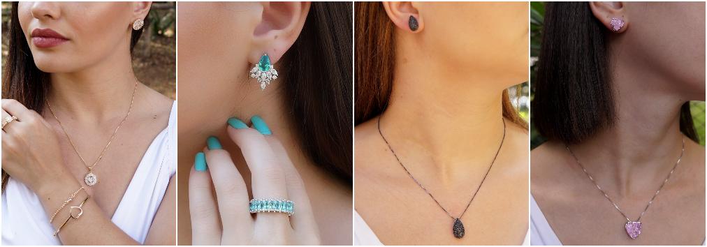 Conjunto de joias – Conjunto de colares e brincos 4