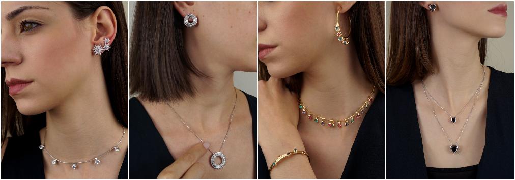 Conjunto de joias – Conjunto de colares e brincos 5