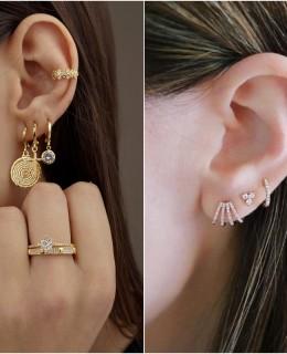 Tendência ear bling