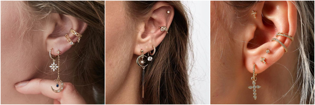 Tendência ear bling 3