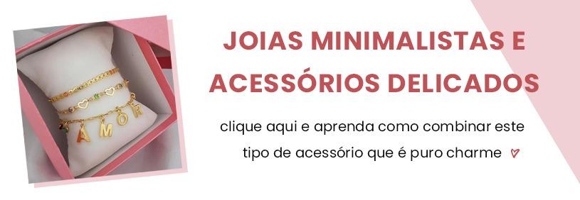 Como combinar joias minimalistas e acessórios delicados