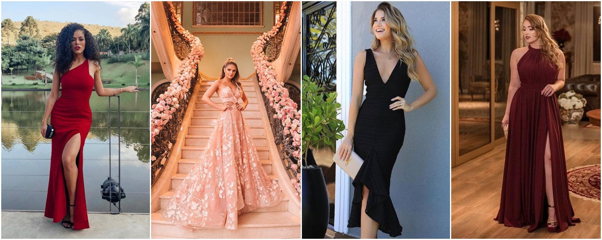 Confira 24 modelos de vestidos de festa para amar