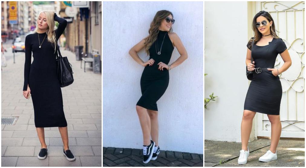 28 Looks De Como Usar Vestido Tubinho Preto Blog Da Kitbox