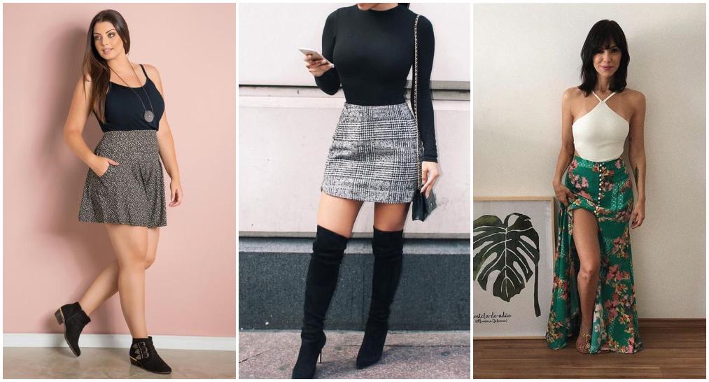Como usar body feminino com saia