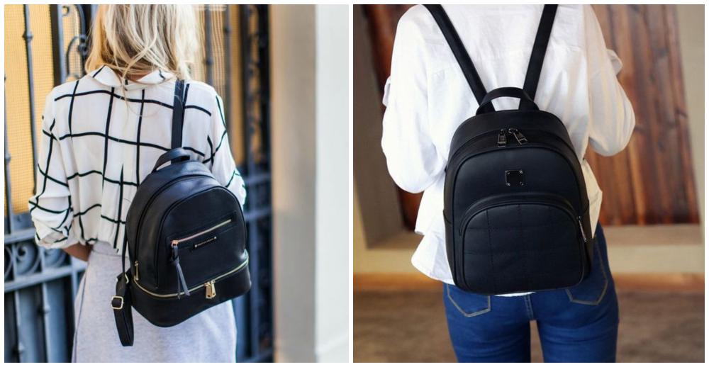 Modelos de bolsas femininas mochila