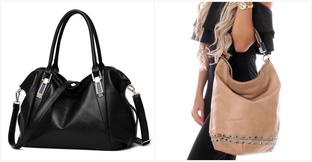 Modelos de bolsas femininas hobo